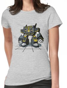 GHETTOBOT Womens Fitted T-Shirt
