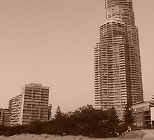 Surfers Paradise - City by the beach 11 by denise nys