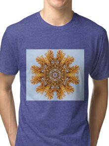 Foliage Snowflake Tri-blend T-Shirt