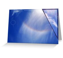 Spare Rainbow One Greeting Card
