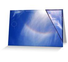Spare Rainbow One Greeting Card