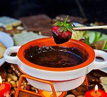 chocolate fondue by Joana Kruse