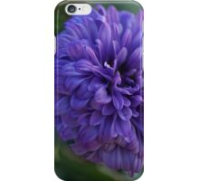 Purple flower Macro iPhone Case/Skin