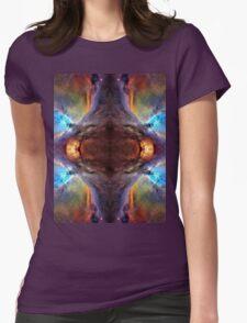 Nebula Galaxy Womens Fitted T-Shirt