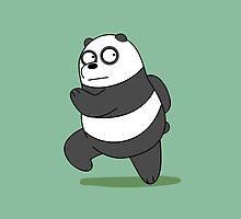 Panda / We Bare Bears by vladmartin