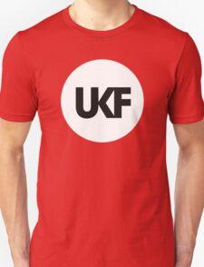 UKF-White and Black T-Shirt