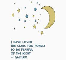 Galileo Stars Quote Kids Tee