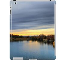 Autumn sunset landscape iPad Case/Skin