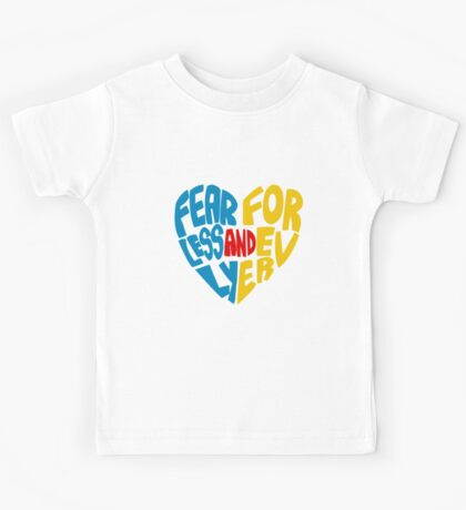 Fearlessly and Forever Kids Tee