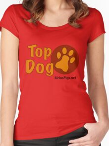 Top Dog Women's Fitted Scoop T-Shirt