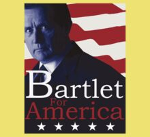 Bartlet for America - The West Wing Kids Tee
