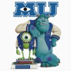 Monsters University by lettucefiends