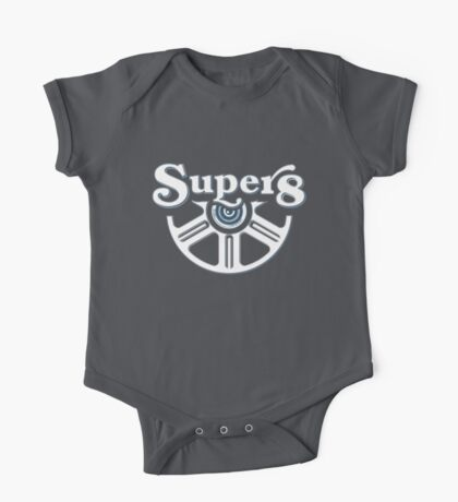 Tribute to Super 8 Cameras One Piece - Short Sleeve