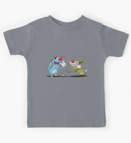 Oggy and The Cockroaches Kids Tee
