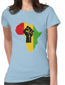 Africa Power Womens Fitted T-Shirt
