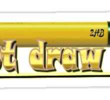 Just draw it! Sticker
