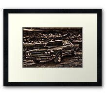 "1969 Dodge Super Bee ""Killer B"" Framed Print"
