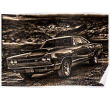 "1969 Dodge Super Bee ""Killer B"" Poster"