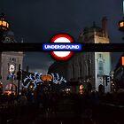 Piccadilly Circus Underground Station  by DizzdemonaMay
