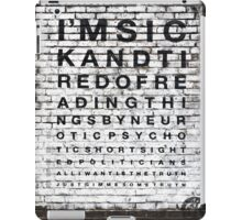I'm sick and tired of reading... iPad Case/Skin