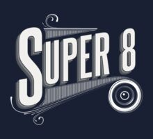 Retro Super 8 Tribute  Baby Tee