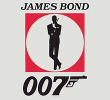 Cool James Bond Stencil Art T-Shirt