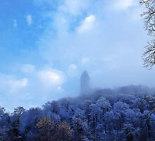 Wallace Monument, Stirling - snowy morning by DalioG2712