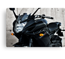 Yamaha Diversion F front-side view Canvas Print