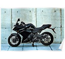 Yamaha Diversion F profile view Poster