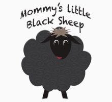 Mommy's Little Black Sheep gift ideas One Piece - Short Sleeve