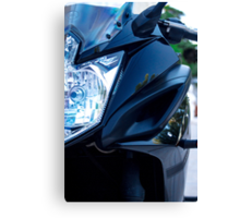 Yamaha Diversion F front view Canvas Print