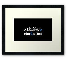 evoLution Framed Print