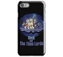 Rick and the Time Lords iPhone Case/Skin