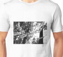Cherry Blossom Branches (BW) Unisex T-Shirt