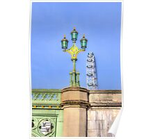 The London Eye And Westminster Bridge Poster