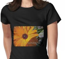Heart of the Sun Womens Fitted T-Shirt