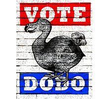 Vote Dodo! Photographic Print