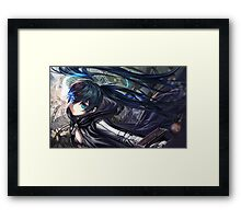 Black rock Shooter Framed Print
