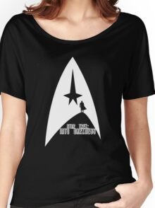 Into Darkness (on dark colours) Women's Relaxed Fit T-Shirt