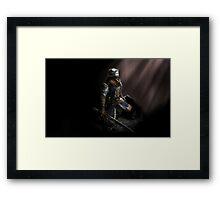 Oscar of astora Framed Print