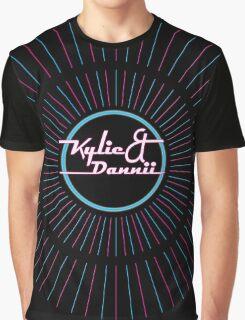 Kylie & Dannii Logo Graphic T-Shirt