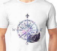 Galaxy compass Unisex T-Shirt