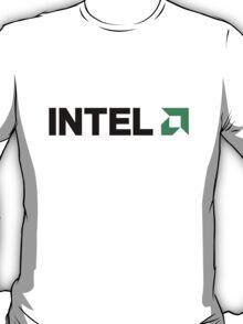 INTEL AMD logo T-Shirt