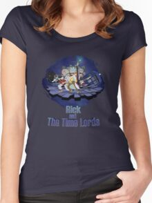 Rick and the Time Lords Women's Fitted Scoop T-Shirt