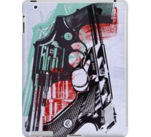 andy worhol_ guns iPad Case/Skin