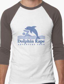 Dolphin Rape Adventure Tours Men's Baseball ¾ T-Shirt