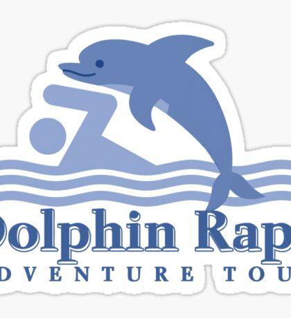 Dolphin Rape Adventure Tours Sticker