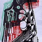 andy worhol_ guns by ioanna1987