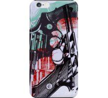 andy worhol_ guns iPhone Case/Skin