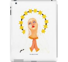 Our Lady of Lourdes in Gibraltar iPad case iPad Case/Skin